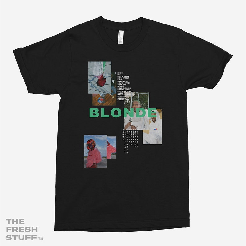 516d91fd Frank Ocean Blonde Unisex T-Shirt | Etsy