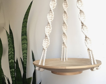 Macramé Hanging Bowl / Plant Hanger