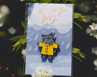 Grey Wolf Soft Enamel Pin