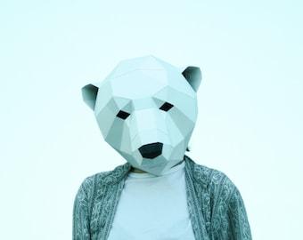 Bear Mask Etsy
