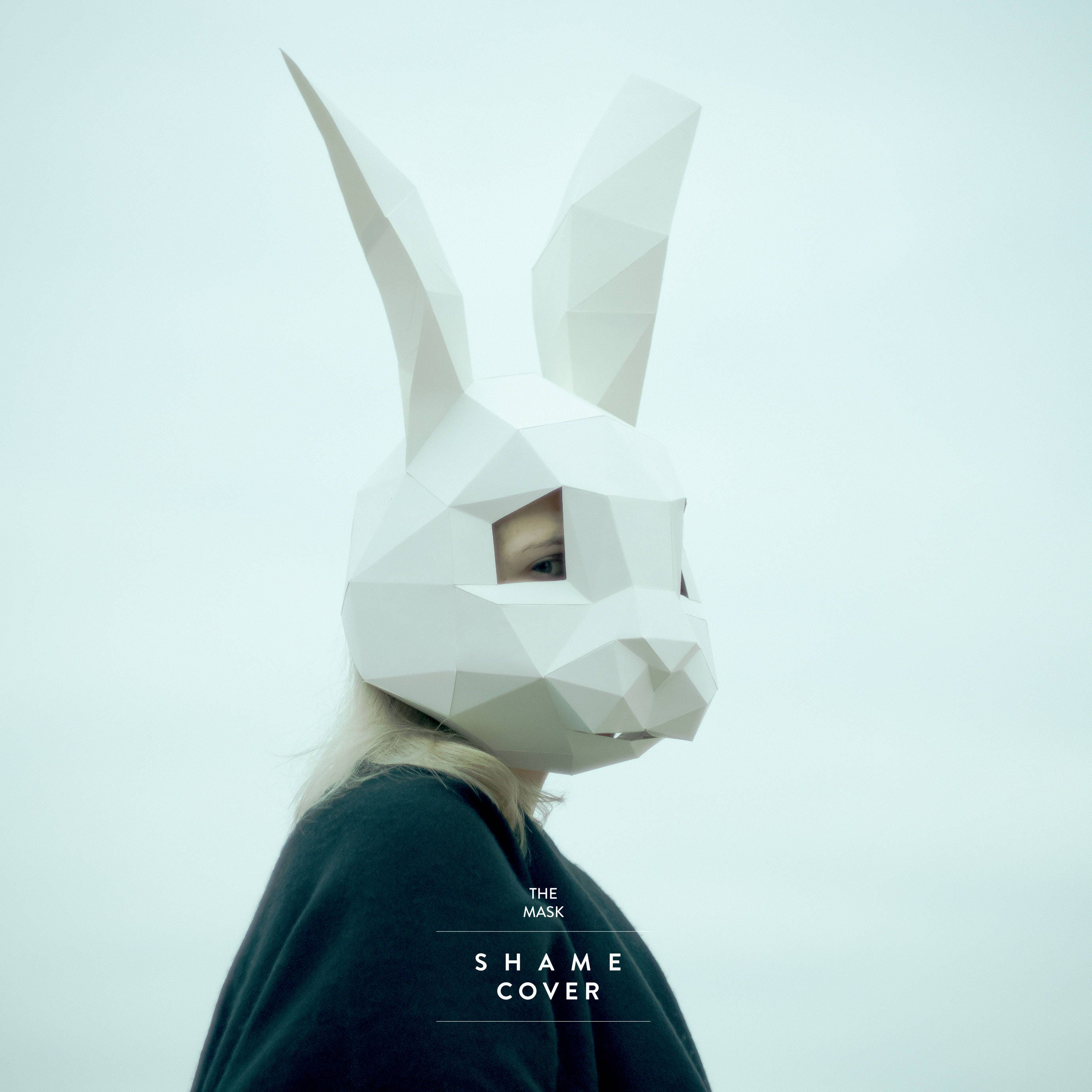 Rabbit MaskBunny MaskDIY 3D MaskPDFPolygon Paper