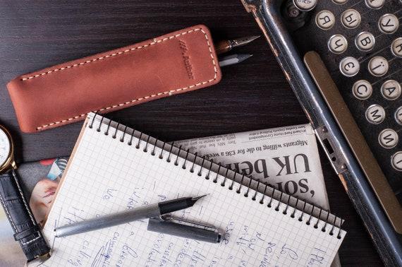 3 PCS Felt Double Pen Case Holder Sleeve for Writing Instruments Light Gray