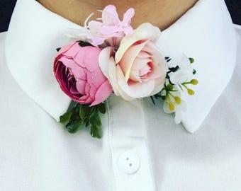 Spring Fling Bouquet Neck Tie