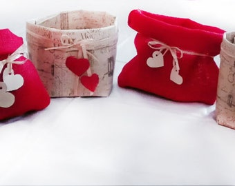 Bags, jute and paper bags