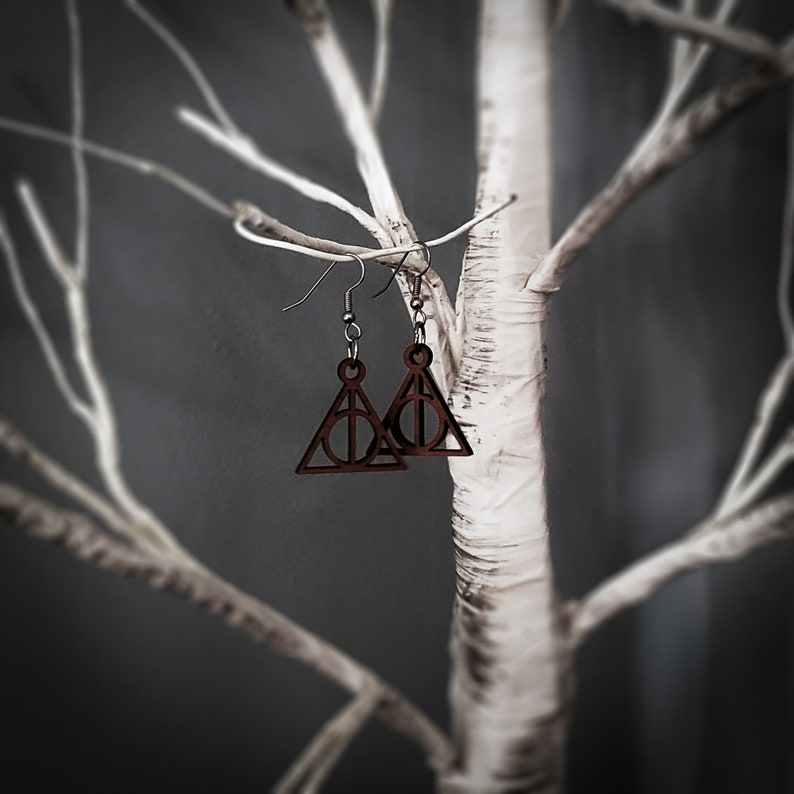 Deathly Hallows Earrings image 0