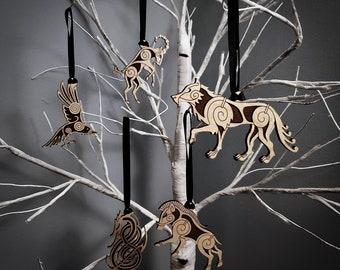 Nordic Animals Ornament Set