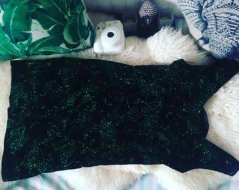 Vintage green dress 36/S SIZE