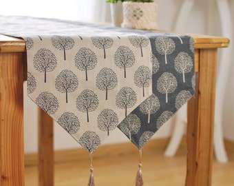 Charmant More Colors. Mulberry Trees Linen Table Runners ...