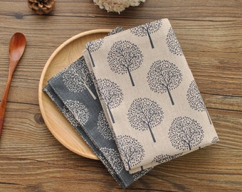 Mulberry Trees Linen Placemats, Linen tea towel, Simple linen placemats, Linen fabric, Dining placemats