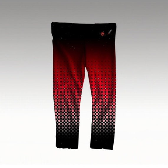 Baby/Toddler Leggings Space Pop Red Black White
