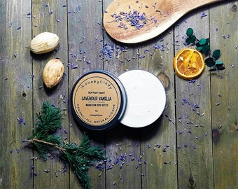 MAGNESIUM BODY BUTTER-100% Plant Based-Organic-Vegan-Ultra Rich Moisturizing-Soothing-Healing-Achy Sore Muscles-4oz 8oz -iLovebyCindy.com