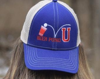 44de87953a4 Beer Pong University Mesh Hat