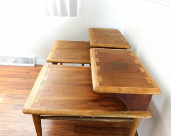Lane Acclaim End Tables Vintage 1960s