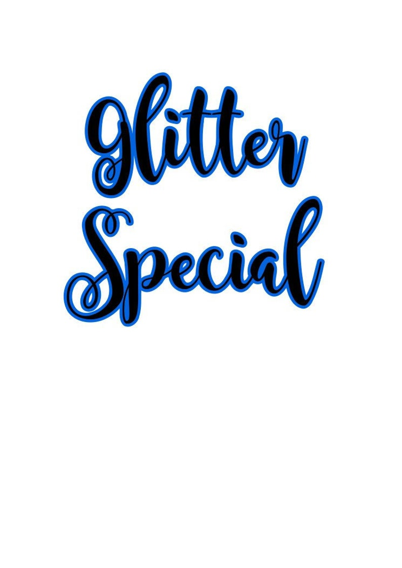 4oz Glitter Special Pack