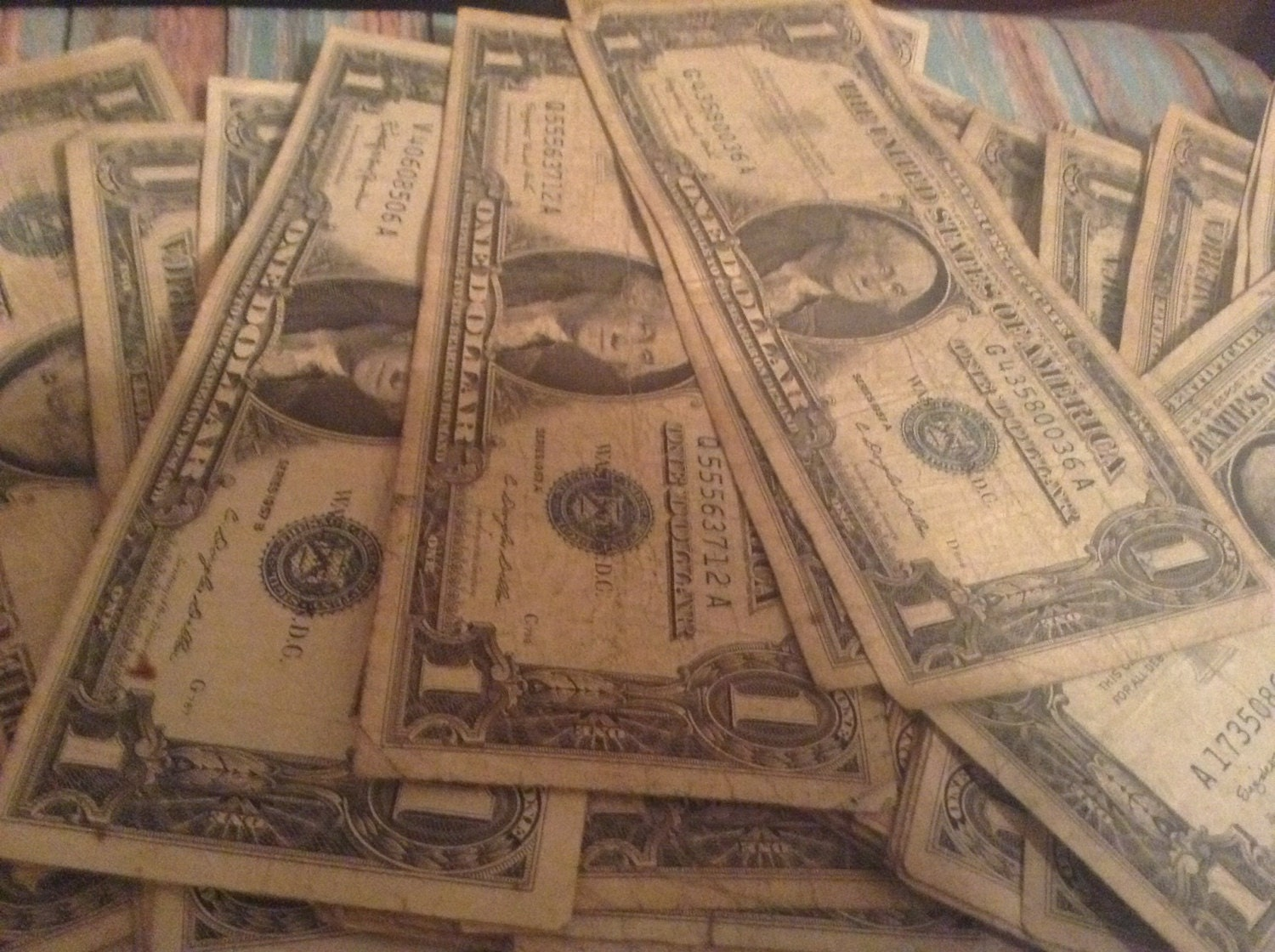 1 Silver Certificate Lot Paper Money Collection 1935 And Etsy