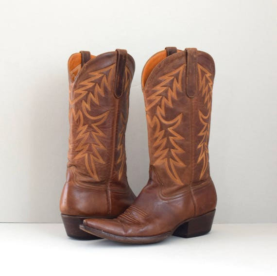 Calistoga | brown Liberty Boot Co. cowboy boots |
