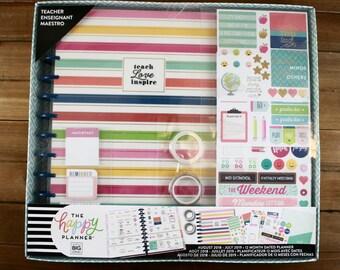 Create 365 The BIG Happy Planner Box Kit, Teacher Edition / Teacher Planner, Life Planner, Happy Planner, Create 365 Planner