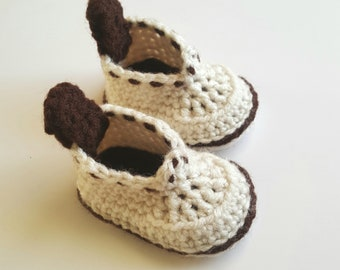 Baby Booties /  Baby Boy Shoes /Newborn Boy shoes / Baby Shower Gift / Booties / Boy Shoes / Newborn Boy booties