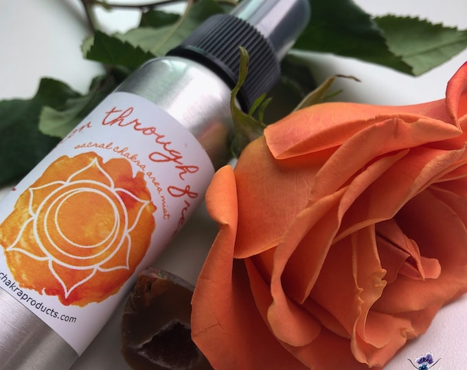 Passion Through Freedom Mist / Mind Body and Spirit / Chakra Balance Spray / Sacral/ Svadhisthana / 2nd Chakra / Pleasure / Energy Healing