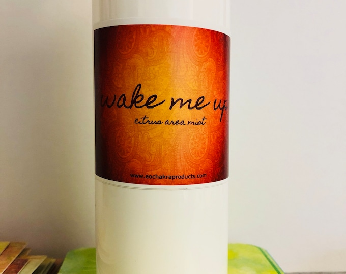 Wake Me Up Spray / Orange / Fresh / Bright / Wake Up / Citrus / Bergamot / Lemon / Grapefruit / Self-care