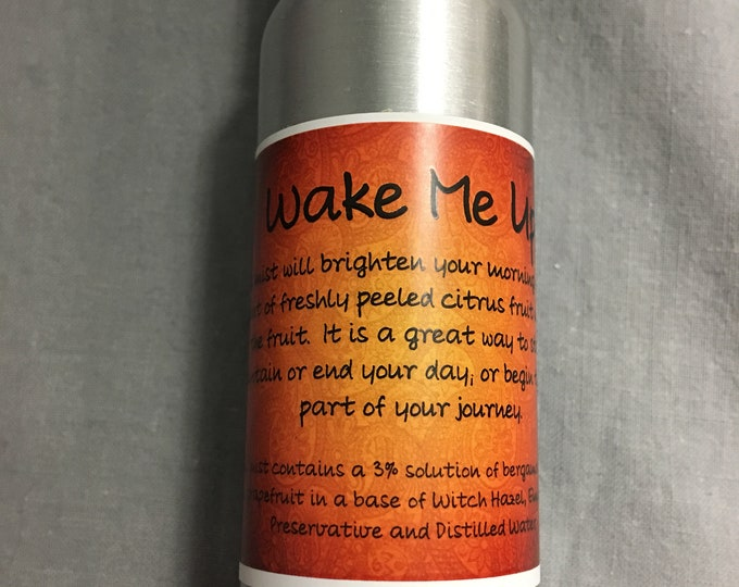 2 oz Wake Me Up Spray / Orange / Fresh / Bright / Wake Up / Citrus / Bergamot / Lemon / Grapefruit / Self-care