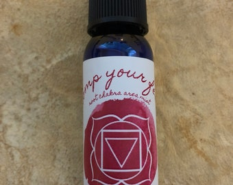 Stomp Your Feet Mist / Mind Body and Spirit / Chakra Balance Spray / Root/ Base/ Muladhara/ 1st Chakra / Ground / Stability / Energy Healing
