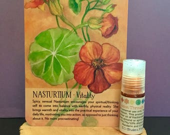 Passion Through Freedom Roll-on/ Mind Body and Spirit / Chakra Balance Oil/ Sacral / Svadhisthana / 2nd Chakra / Pleasure / Energy Healing