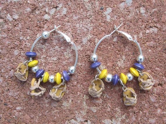 Mexican Jars earrings-Aretes de Jarritos Mexicanos