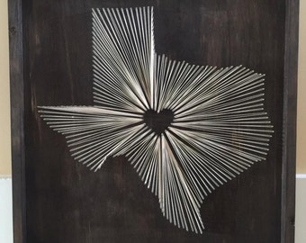 String Art State String Art Illinois State String Art Etsy