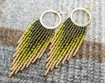 Lightweight with Sterling Silver Hooks for Sensitive Ears Mini Beaded Rainbows Gift for Hope and Positivity Rainbow Earrings