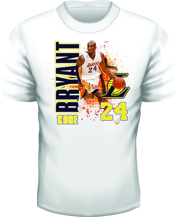 Los Angeles Lakers Kobe Bryant Sublimated Dry  0b2a8f102