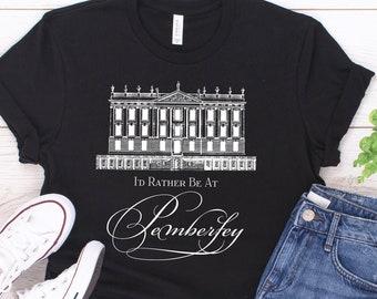 10ed5b881 Jane Austen T-Shirt, Pride and Prejudice, Pemberley, Jane Austen Gift,  Literary T-Shirt, Literary Quote Shirt, Bookish Gift