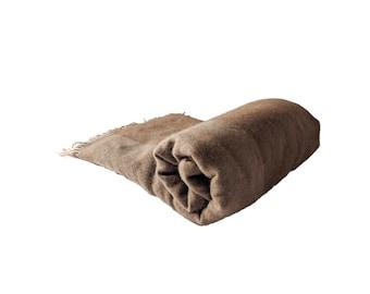 Camel wool blanket/throw