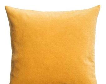 SUN KISSED Cotton Velvet Pillow