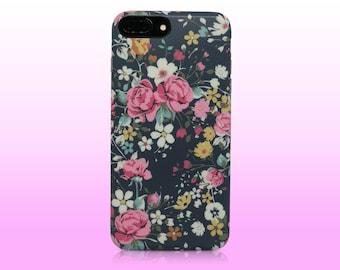 Floral phone case, white flower, roses, Amaryllis, iphone 6 case, iphone 6 plus case, iphone 7 case, iphone 7 plus case, 8 , 8 plus