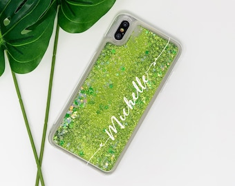 the best attitude 0d307 0a371 Green phone case | Etsy