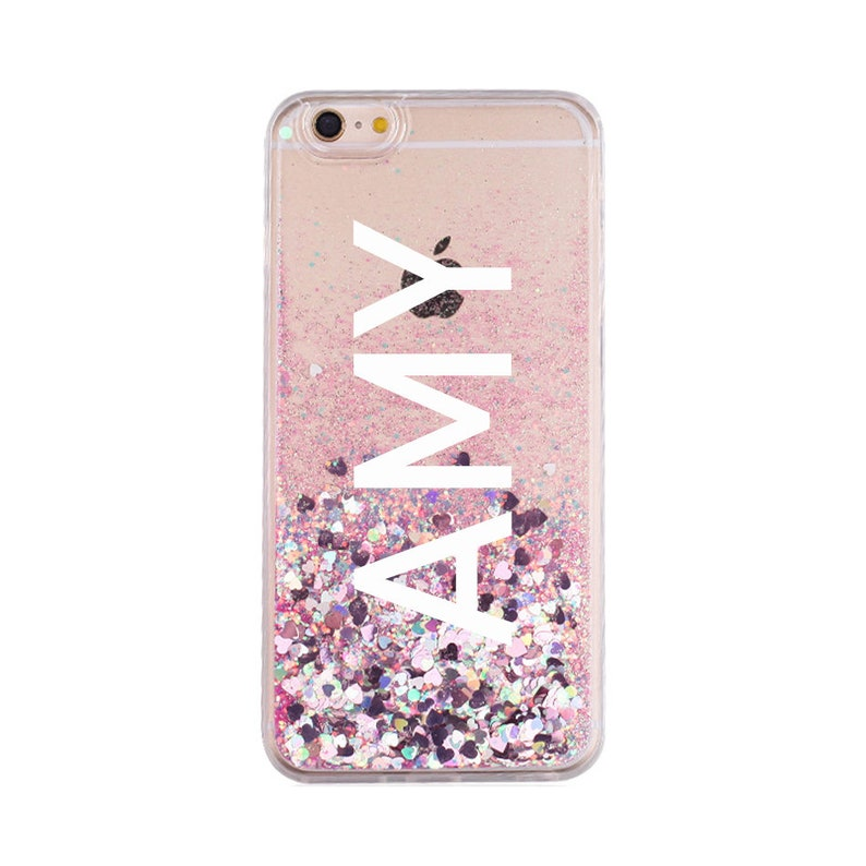 best service 0ca4c bf398 Holographic moving glitter phone case iphone 7 case iphone x case phone  cases iphone 6 plus iphone 7 plus iphone 6s case iphone 6s plus