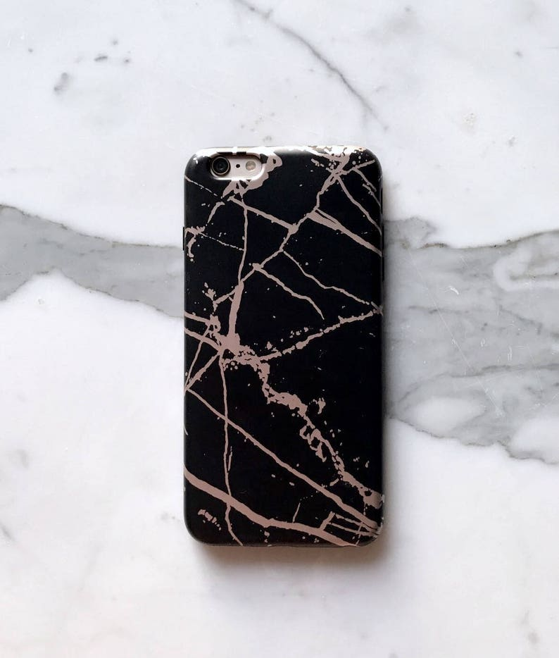 official photos acb5f 5a419 Rose Gold Black Marble phone case, Black Marble ase, iphone 6,tech gifts,  iphone 7, iPhone Xs Max,iphone 8, iphone 8 plus case iphone x case
