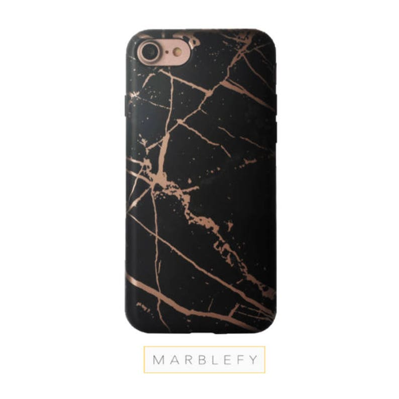 official photos 488dc fc3a3 Rose Gold Black Marble phone case, Black Marble ase, iphone 6,tech gifts,  iphone 7, iPhone Xs Max,iphone 8, iphone 8 plus case iphone x case
