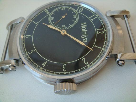 Molnija watch wristwatch men's watch antique watch