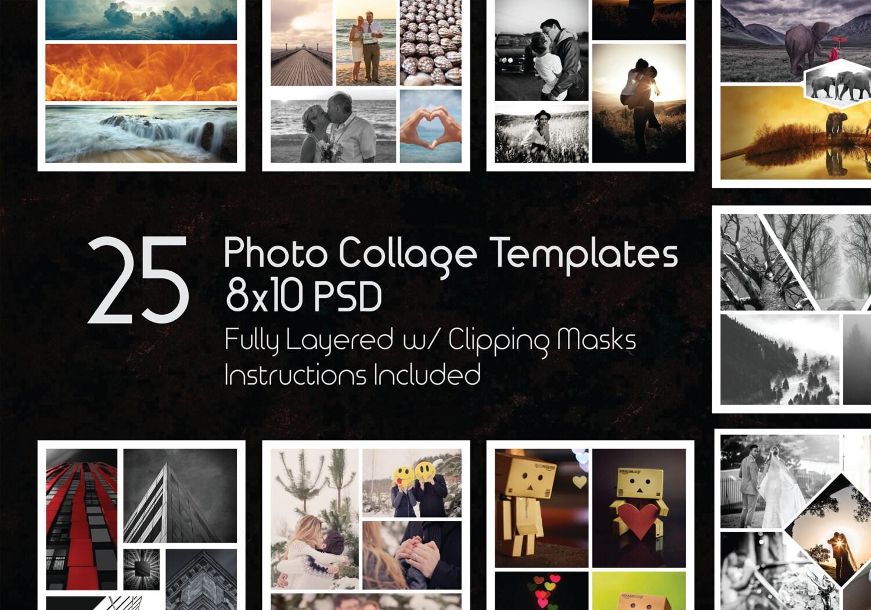 Increíble Collage De Plantilla Friso - Ejemplo De Colección De ...