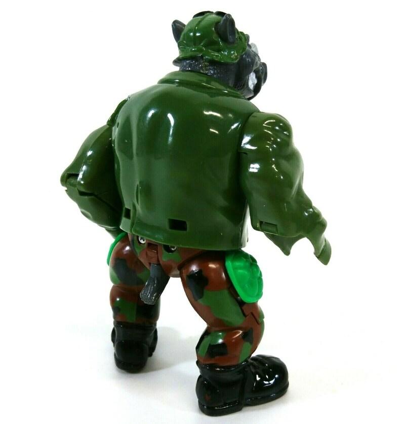 1992 Vintage Mirage Playmates TMNT Turtles Mutatin Rocksteady 125BA
