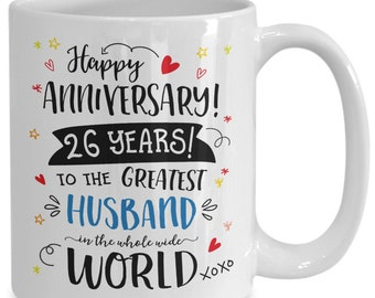 27th Wedding Anniversary Gifts For Husband Greatest Husband Etsy