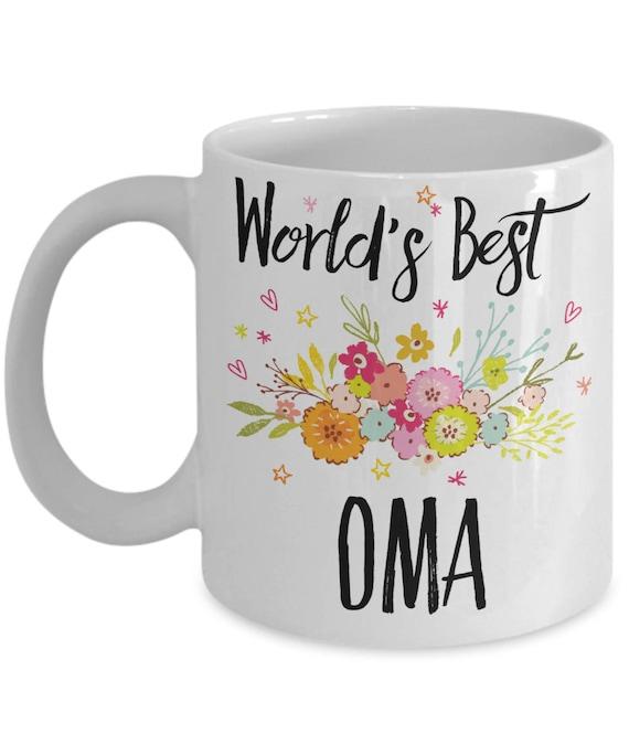 Oma Mug Oma Baby Shower Gift Oma Birthday Gift Oma Opa   Etsy