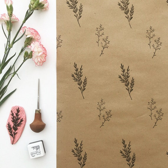 Floral Gift Wrapping Paper Birthday Gift Wrap Paper To Wrap Etsy