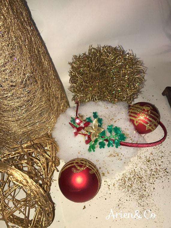Christmas headband.