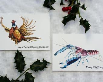Christmas Cards: Mix & Match Set!