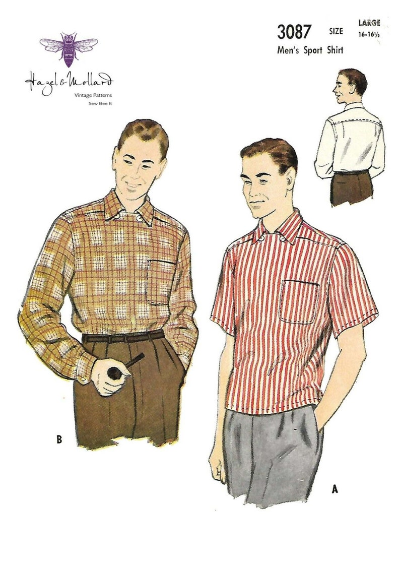 1950s Sewing Patterns | Dresses, Skirts, Tops, Mens   AT vintagedancer.com