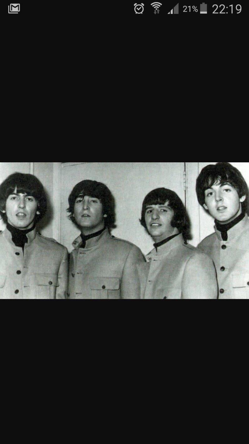 Multi-sizes Men/'s Nehru  Beatles Jacket or Shirt Vintage 1960/'s Sewing Pattern