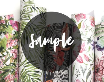 Sample Order 1-71 || Self- adhesive Removable Wallpaper || Wall Murals || Peel and stick fabric wallpapers